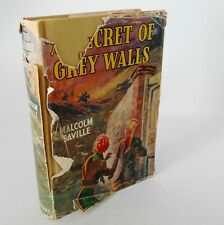 The Secret Of Grey Walls Malcolm Saville Lone Pine Adventure HB 4th Imp 1954