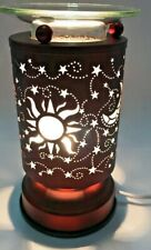 Metal Touch Aroma Lamp/Oil Burner/Wax Warmer/Night Light .W-007 FREE SHIPPING