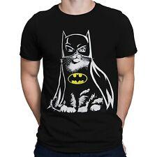 Batman Bat Cat T-Shirt Black