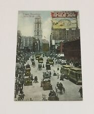 New York City NY Upper Broadway, Rice Electric Display Vintage Postcard No. 1059