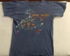 The Who American Tour 1982 Original Rock Concert Tee L, Original Vtg, Rare