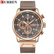 Men Analog Digital Leather Sports Watches Men's Army Military Watch Man