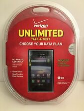 Verizon Samsung Optimus Zone Android Powered Smartphone Unlimited Talk & Text