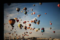 Vintage lot of 31 35mm Slides Photos Fujichrome Hot Air Balloons