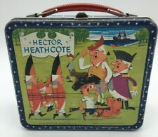 Vintage Hector Heathcote Metal Lunch Box 1964 Aladin D8