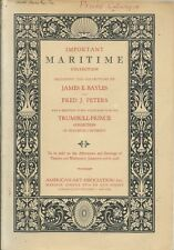 AMERICAN ART ASSN Maritime Ship Model Porcelain Books Whaling Log Catalog 1926