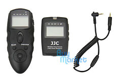 JJC WT-868 Wireless Timer Remote w/ CABLE for Panasonic GH4 G5 GX7 FZ150 G7 GX8