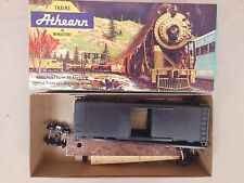 HO SCALE ATHEARN UNDECORATED (BLACK) 40' CAR KIT NOS