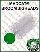 Madcat® BROOM JIGHEAD testina piombata vertical jigging siluro 2PCS
