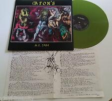 ATON'S a.i.2984  LP ORIG. LTD GREEN VINYL   italian  psych - prog progressive