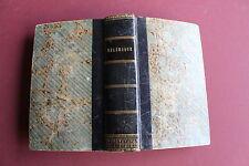 les avantures de Télémaque par F. de SALIGNAC FENELON - 1771 à Ulm, ed. bilingue