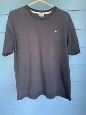 Nike Cotton Black Workout Shirt Mens Size Medium