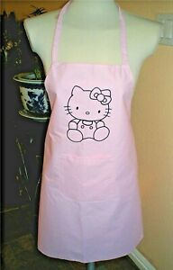 Beautiful Hello Kitty Apron With One Front Pocket Water Proof Various Colors