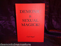 DEMONIC & SEXUAL MAGICK Carl Nagel Finbarr Occult Grimoire Black Satanic Magic