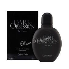 Calvin Klein Dark Obsession for Men EDT Spray 4.0oz 125ml * New in Box Sealed *