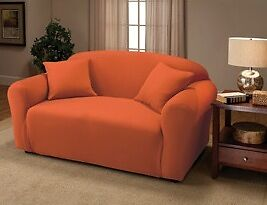 """""""OKAY TO BUY""""------JERSEY STRETCH COVER FOR LOVESEAT  / SOFA / CHAIR / RECLINER"""