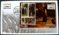 2002 LORD OF THE RINGS FELLOWSHIP OF THE RING FDC NEW ZEALAND NORTHPEX GANDALF