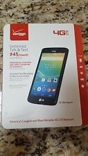 Verizon NO CONTRACT LG Transpyre 4G LTE-- New in Box--SEALED Free Shipping