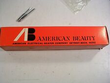 American Beauty Model 3128-S3 60W Soldering Iron New With 2 Tips