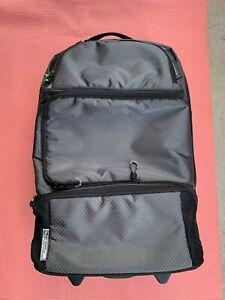 OGIO Black Rolling Wheeled Luggage Travel Carry On Bag Plane