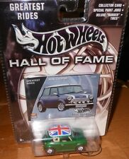 HOT  WHEELS - HALL of FAME  MINI  COOPER    yr. 2002 - scale 1:64