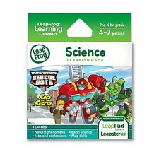LeapFrog Transformers Rescue Bots Race to the Rescue , New, Free Shipping