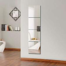 16pcs Wandspiegel Mode Selbstklebe Spiegel Zimmerspiegel Badspiegel