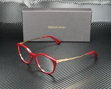 DOLCE & GABBANA DG3242 3091 Bordeaux Demo Lens 48 mm Women's Eyeglasses