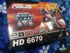 ASUS AMD Radeon HD 6670 (EAH6670/DIS/1GD5) 1 GB GDDR5 SDRAM PCI Express x16...