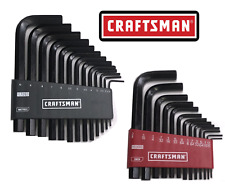 Craftsman 26pc or 13pc SAE & METRIC MM Allen / Hex Key Wrench Set NEW