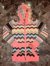 SOLD OUT Missoni For Target Lovely Zig Zag Hoodie Size XS NWT Ready To Ship