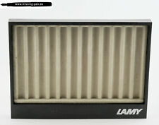 Vintage used Lamy Tray / Tablett in Black-Grey for 12 Pens