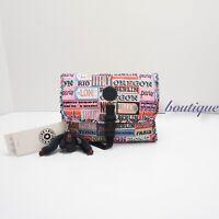 NWT Kipling AC8589 Meadow Hanging Toiletry Cosmetic Travel Bag Hello Weekend $64