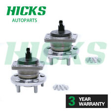 *2 REAR WHEEL BEARING HUB KIT W/ABS SENSOR & BOLTS FOR FORD MONDEO MK3 2000-2007