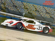 2008 Alex Job Racing Porsche Daytona Prototype Grand Am postcard