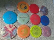 Lot of 12 New and Used Infinite, Kastaplast, Gateway, Millennium Disc Golf Discs