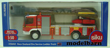 New Zealand Fire Service 1/50 Mercedes-Benz Turntable Ladder Fire Engine Siku