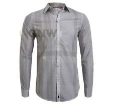 Camicie casual e maglie da uomo grigie Calvin Klein