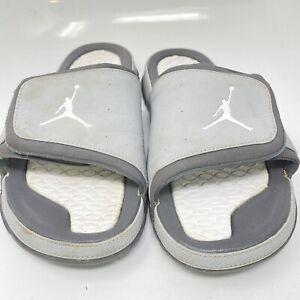 2011 Nike Air Jordan Hydro II 2 Sandals Slides Jumpman Mens Sz 10 M 312527 Gray