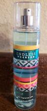 Bath & Body Work Endless Weekend Fragrance Mist  8 oz Spray NEW