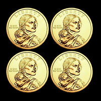2013 P+D Native American Sacagawea Set ~ Position A+B ~ From US Mint Rolls
