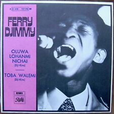 "FERRY DJIMMY Toba Walemi 7"" RARE FRENCH PS AFRO PSYCH FUNK MINT!"