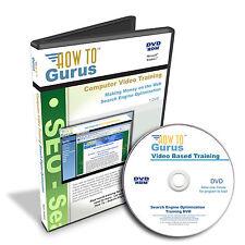 How To Gurus Search Engine Optimization Web Design SEO Training 8 hrs DVD