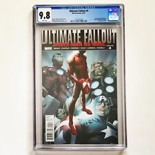 ULTIMATE FALLOUT #4 CGC 9.8 1st PRINT Marvel 1st App MILES MORALES as Spider-man