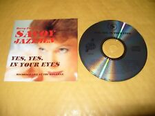 Barry Palser'sSavoy Jazzmen Yes Yes in Your Eyes 14 Track cd Live  Ex Condition