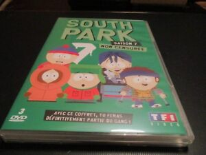 "COFFRET 3 DVD NEUF ""SOUTH PARK, SAISON 7"""