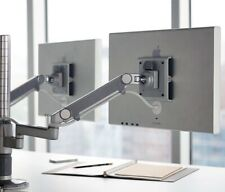 Humanscale Dual Monitor Arm SILVER M-Flex MF82S2S2S--C12 / NEW IN BOX M8/M2