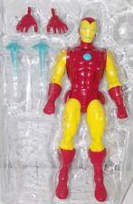 Hasbro Marvel Legends Iron Man Classic Comic Colors Armor Figure Loose
