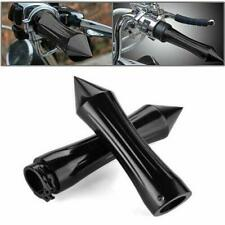 "1"" Black Spike Hand Grips For Honda Shadow VT VT1100 VT750 VT600 VF750 Magna 750"