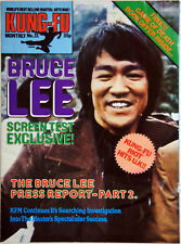Kung-Fu Monthly Poster Magazine (Bruce Lee Screen Test Exclusive)  Monthly No.31